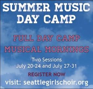Summer Music Day Camp - Session 1 @ Volunteer Park SDA Church | Seattle | Washington | United States